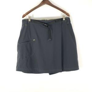 REI // Black Plus Size Wrap Skorts